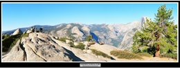 3 - Yosemite National Park (View from Glacier Point)