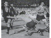 31 - Brian Davies playing for Queensland