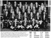 37 - 1961 Queensland team