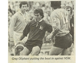 61 - Greg Oliphant playing for Queensland