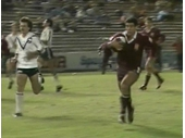 86 - 1984 Queensland v New Zealand (Mal Meninga about to score)