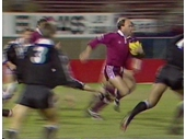 88 - 1987 Queensland v New Zealand (Wally Lewis with ball)