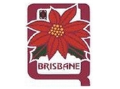 01 - Brisbane team logo with Poincietta floral emblem
