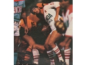 106 - Greg Dowling playing for Brisbane against Balmain in 1985