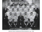 12 - 1962 Brisbane team photo