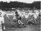32 - 1956 Bulimba Cup game - Brisbane v Toowoomba (Brian Davies tackling)
