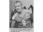 81 - Des Morris after being man of the match for Brisbane v St George in a 1979 Amco Cup game