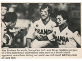 88 - 1982 KB Cup game between Brisbane and South Island (NZ)