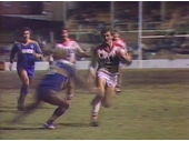 98 - Ian French about to score for Brisbane v Parramatta in a 1984 Panasonic Cup semi final