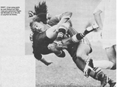 103 - A young Wally Lewis makes a crunching tackle