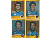 113 - Scanlens cards of Norths players