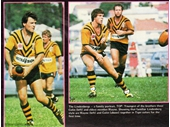 168 - Wayne and Colin Lindenberg playing for Easts in 1983
