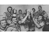 93 - Easts celebrate a Presidents Cup win