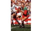 210 - Wally Lewis with Mal Meninga behind him