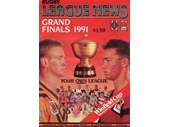 247 - Program for the 1991 Grand Final between Easts and Wests