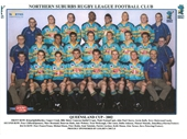 260 - The 2002 Norths team including Cooper Cronk, Billy Slater  and Cameron Smith in the front row