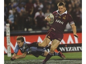 108 - 2006 State of Origin series - Brent Tate scores for Queensland