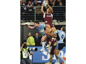 113 - 2008 State of Origin series - Israel Folau takes a high kick