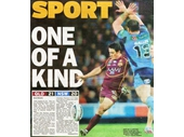 128 - 2012 State of Origin series - Cameron Cronk kicks the winning field goal in the decider