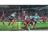 131 - Justin Hodges scores a try in the 2013 State of Origin series