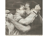 98 - Terry Hill and Gordon Tallis get up close and personal during the 1999 Origin series