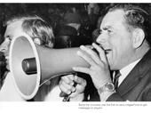 43 - Bob Bax with a megaphone