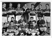 47 - Early 60's Souths team with Frank Drake & Mick Veivers
