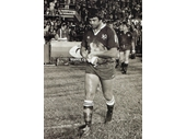 06 - Artie Beetson leads out Queensland during 1st Origin game