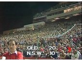 08 - The crowd in the Lang Park Outer at the end of the 1st Origin game