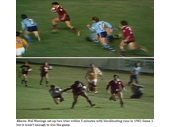 15 - 1982 State of Origin series - Mal Meninga sets up two tries in Game 1