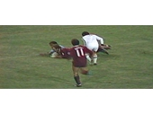 23 - 1982 State of Origin series - Wally Lewis scores after a brain explosion by Phil Sigsworth in Game 3