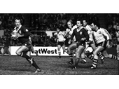 27 - 1983 State of Origin series - Wally Lewis on the burst