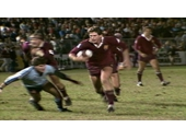 29 - Gene Miles on the burst for Queensland