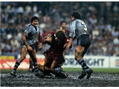 38 - 1984 State of Origin series - Gene Miles in the SCG mudbath during Game 2