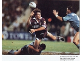 88 - 1994 State of Origin series Game 1 - Willie Carne sends the last pass in Queensland's winning miracle try