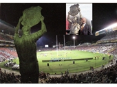 90 - The King Wally Lewis statue