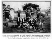 21 - 1930 BRL Grand Final Challenge at Davies Park won by Carltons (Souths)