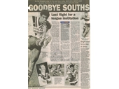 30 - Article on Souths before the merger with Logan in 2003