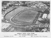65 - Lang Park in 1959 before the Frank Burke Stand was built