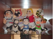 86 - Mascot figures for some of the BRL clubs