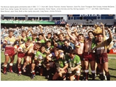 20 - The Broncos Reserve Grade side after winning the 1990 Reserve Grade premiership