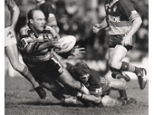 26 - Wally Lewis playing for the Gold Coast Seagulls
