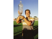 27 - Allan Langer after the Broncos won the 1991 Pre-Season trophy