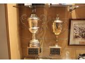 28 - The trophies for the pre-season comp win of 1991 and the 1992 World Club Challenge
