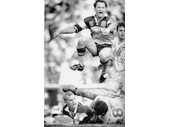 31 - Allan Langer scores a try in the 1992 ARL Grand Final