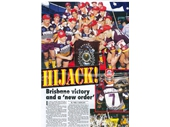 35 - Broncos celebrate their first premiership in 1992
