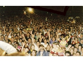 37 - Crowds gather to celebrate the 1992 Grand Final win