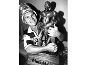 41 - Alfie getting attached to the Winfield Cup