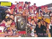 43 - The Broncos celebrate their second premiership in 1993