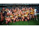 57 - The South Qld Crushers celebrate a win